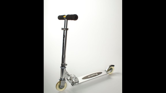 The scooter couldn't quite whiz past the competition into the National Toy Hall of Fame, but it was a finalist.