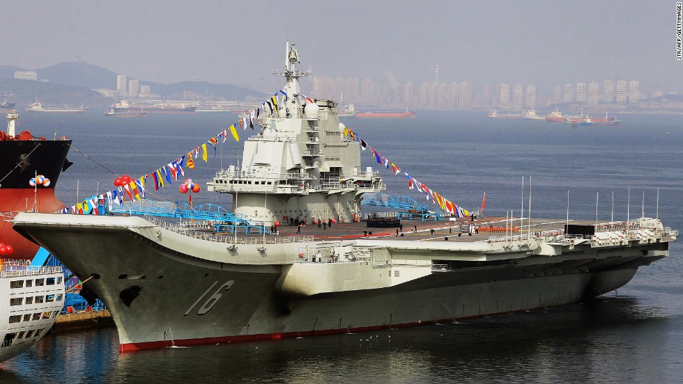 China building new aircraft carrier