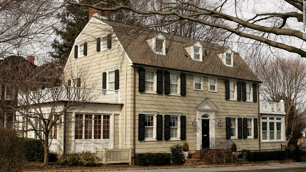 "High Hopes: Built 1924 in Amityville, New York, this Dutch colonial revival home gained a haunted reputation after <a href=""http://www.amityvillemurders.com/ "" target=""_blank"">Ronald DeFeo Jr. killed his entire family</a> there in 1974."