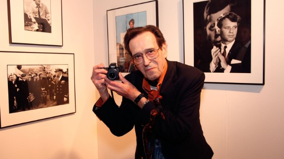 Photojournalist Bill Eppridge, who photographed Sen. Robert F. Kennedy moments after he was fatally shot in Los Angeles in 1968, died on October 3.