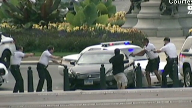 Why did Capitol car chase happen?