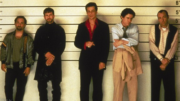 """""""The Usual Suspects"""" -- with Kevin Pollak, Stephen Baldwin, Benicio del Toro, Gabriel Byrne and Kevin Spacey -- won an Academy Award for Best Original Screenplay, by Christopher McQuarrie. Nonetheless, Ebert didn"""