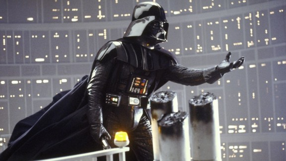 """Some of the most startling words in movie history are uttered by Darth Vader to Luke Skywalker in 1980's """"The Empire Strikes Back"""" (""""Star Wars Episode V,"""" for those who prefer the retitled version): """"I am your father,"""" Vader says. And thus the battle between the Rebels and the Empire becomes very personal."""