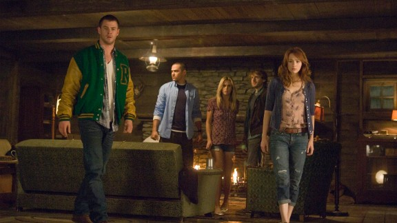 """""""The Cabin in the Woods"""" (2012) is, like """"Scream,"""" as much a parody of horror movie cliches as it is a horror movie itself. But the final twist, including an uncredited performer, shows that underneath the parody is an apocalyptic heart."""