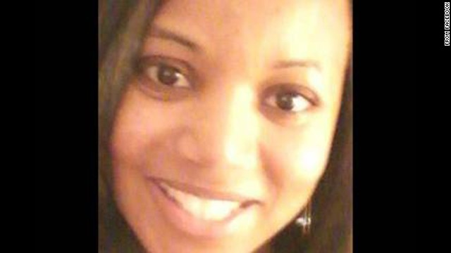 Miriam Carey, shown in a photo from Facebook, was driving with a 1-year-old child.