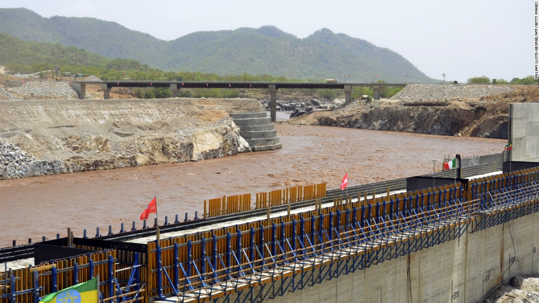 "In Ethiopia, the <a href=""http://edition.cnn.com/2015/03/06/africa/grand-reneissance-dam-ethiopia/"" target=""_blank"">Grand Renaissance Dam </a>is under construction on the Blue Nile River. It is claimed it will generate 6,000 MWs of energy when completed."