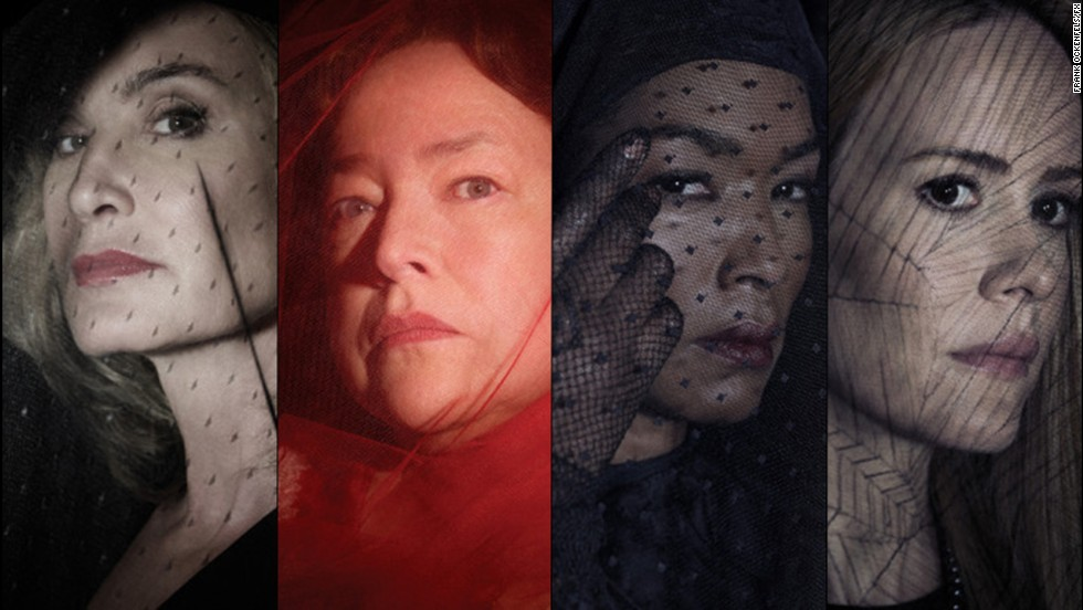 "According to reports, Jessica Lange, Kathy Bates, Angela Bassett and Sarah Paulson are set to return for the new season of ""American Horror Story,"" which creator <a href=""https://twitter.com/MrRPMurphy/status/448145257918513153"" target=""_blank"">Ryan Murphy tweeted</a> will be titled ""American Horror Story: Freak Show."" The four are fresh off the most recent season of ""American Horror Story,"" in which they played powerful witches. Their performances put them on our list of celebrated witches in pop culture."