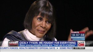 Cicely Tyson: We fought for everything