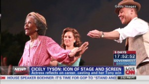 Icon Cicely Tyson returns to the stage