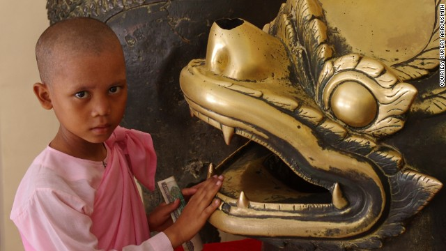 89% of Myanmar's population is Buddhist.