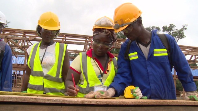 Liberia's first commercial gold mine