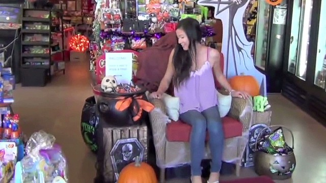 Distraction: Chair Prank Shocks Shoppers