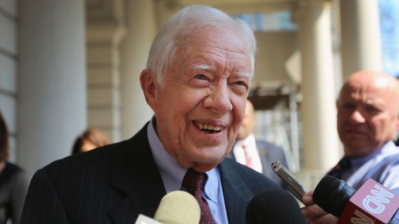 """Jimmy Carter has spent much of his time post-presidency as a human rights activist and author. The rights of women was high on the agenda during his speech in May at the Carter Center conference and now the former U.S. president wants to write a book on the treatment of women. In his book proposal, as reported by The New York Times, he wrote: """"I am convinced that discrimination against women and girls is one of the world"""