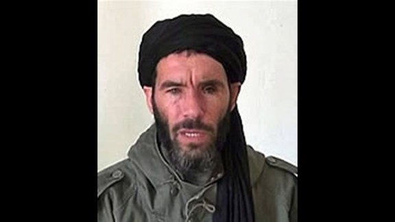 Moktar Belmoktar was the leading figure of al Qaeda in the Islamic Maghreb. A reward up to $5 million has been offered by the U.S. government.