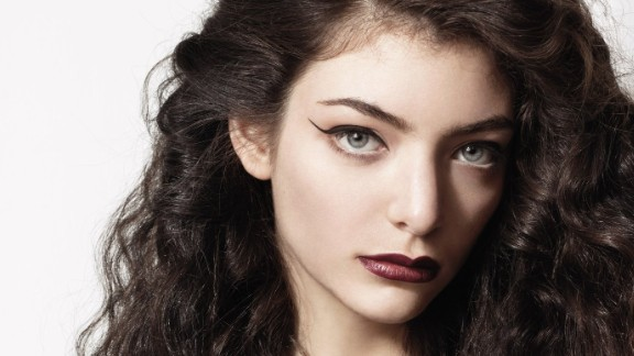 New Zealand pop singer Ella Yelich-O'Connor, better known as Lorde.