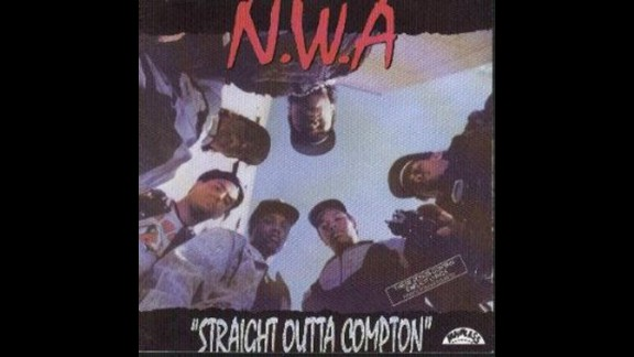 "NWA's 1988 debut studio album ""Straight Outta Compton"" included the tune ""F*** Da Police"" which as you can imagine did not go over well with the law enforcement community."