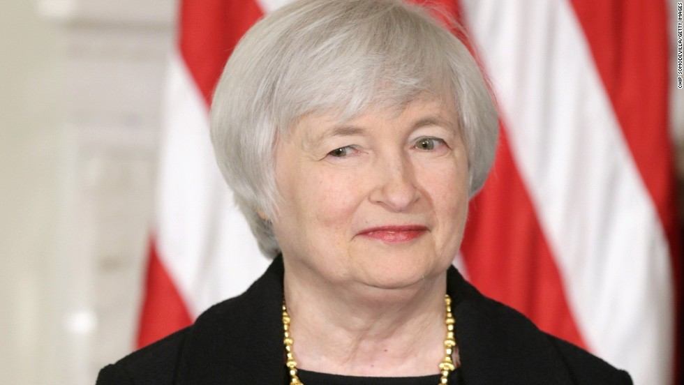 Janet Yellen Fast Facts