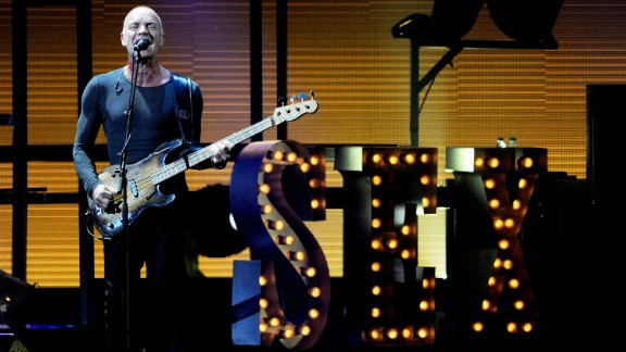 """Musician Sting, 66, has never been shy about sharing details of his sex life. He and wife Trudie Styler aren't quite having tantric sex for hours, as rumor has claimed, but they do like to keep things spicy. """"I don't think pedestrian sex is very interesting,"""" he told Harper's Bazaar in 2011. """"There's a playfulness we have; I like the theater of sex. I like to look good. I like her to dress up. I like to dress her up. ... Romantic? We like tawdry."""""""