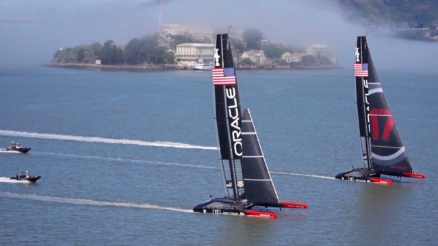 Greatest America's Cup finale ever?