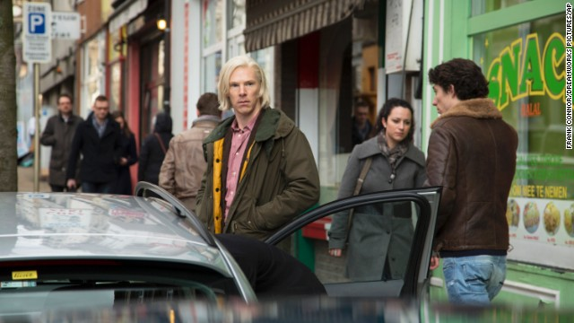 "Benedict Cumberbatch plays WikiLeaks founder Julian Assange in ""The Fifth Estate."" The film has performed poorly."