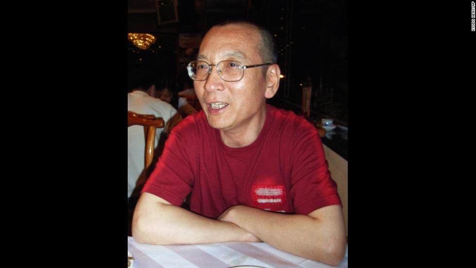 Chinese dissident Liu Xiaobo won the Nobel Peace Prize in 2010.