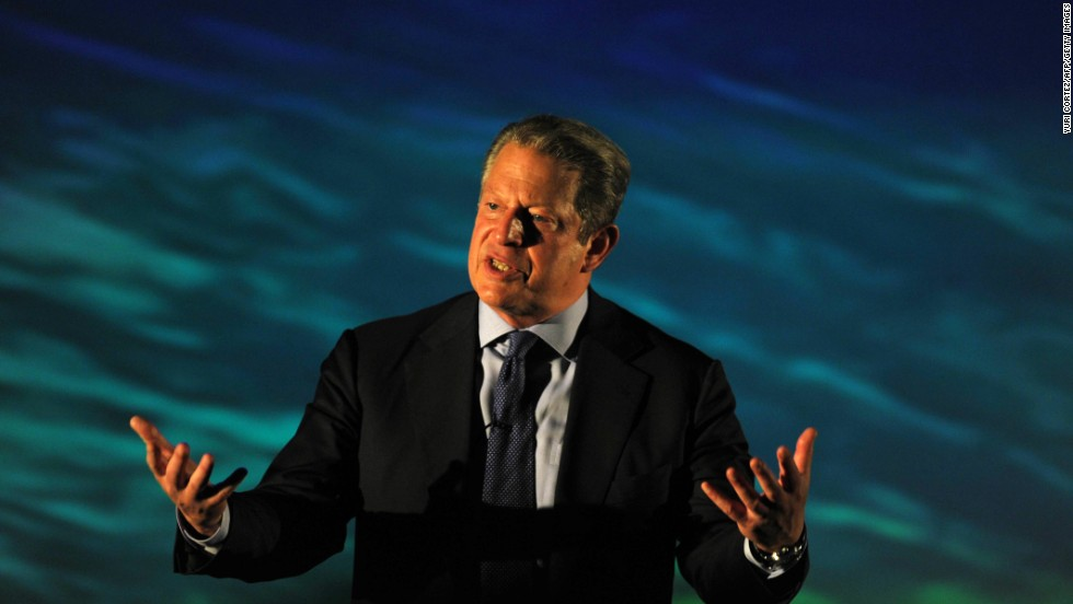 Former Vice President Al Gore and the Intergovernmental Panel on Climate Change won the Nobel Peace Prize in 2007.