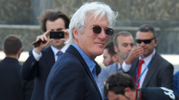 """When then-68-year-old Richard Gere opened a boutique hotel in 2012, he told CNN he had a very clear understanding of what he wanted the design to convey. """"Sex -- every choice in here was about sex,"""" People's former Sexiest Man Alive said. And yet, the guy doesn't believe that he has """"a certain impact"""" on the opposite sex. He is now 66."""