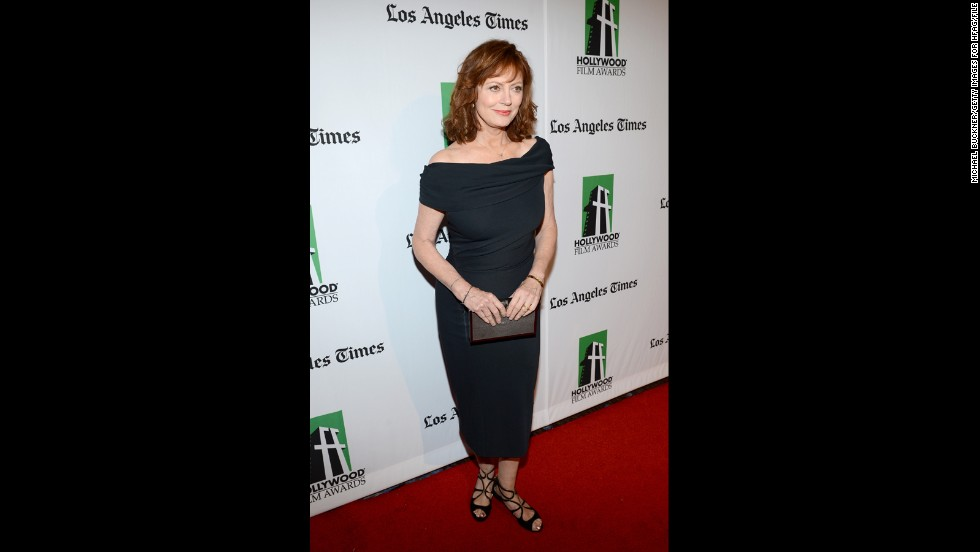 "Susan Sarandon was once told her sexy days would soon come to an end before she even turned 40, and <a href=""http://www.people.com/people/article/0,,20580238,00.html"" target=""_blank"">the actress recalled last year</a> that she (rightly) laughed at the notion. Now 69, Sarandon has said sensuality is ""really more of an attitude than it is being naked,"" she told People magazine. ""I'm happy to be considered desirable. I love it!"""