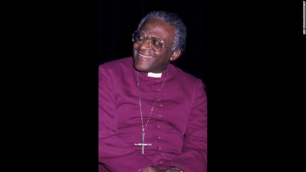 Archbishop Desmond Tutu won the Nobel Peace Prize in 1984.