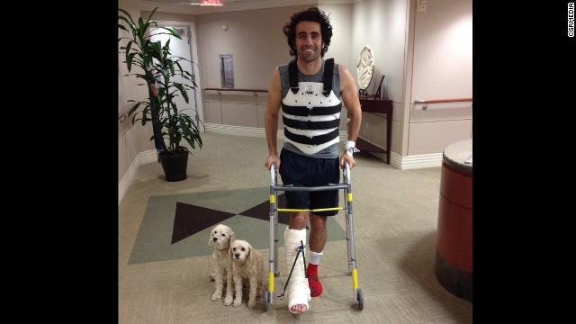 Indy winner Dario Franchitti leaves Houston hospital - CNN