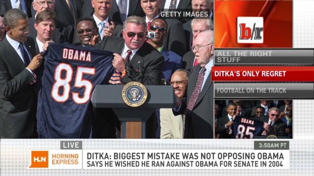 Mike Ditka regrets not running vs Obama