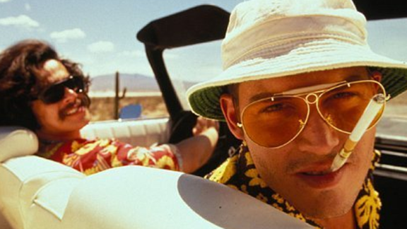 """Fear and Loathing in Las Vegas"": Terry Gilliam's 1998 movie adaptation, gamely acted by Benicio del Toro and Johnny Depp, did its best to capture the gonzo spirit of Hunter S. Thompson's 1971 novel."
