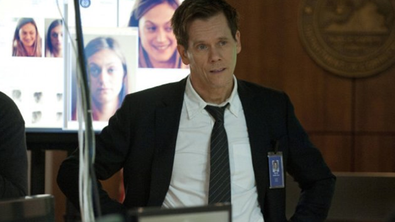 "There was a time when you could see Kevin Bacon on your TV screen only if one of the cable channels was airing ""Footloose."" But in 2013, Bacon followed in the footsteps of his wife, Kyra Sedgwick, and made TV appearances a weekly thing with Fox's ""The Following."""