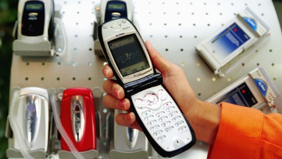 Japanese mobile operator DoCoMo introduced a new mobile phone named Freedom of Mobile Multimedia Access (FOMA) in October, 2001.