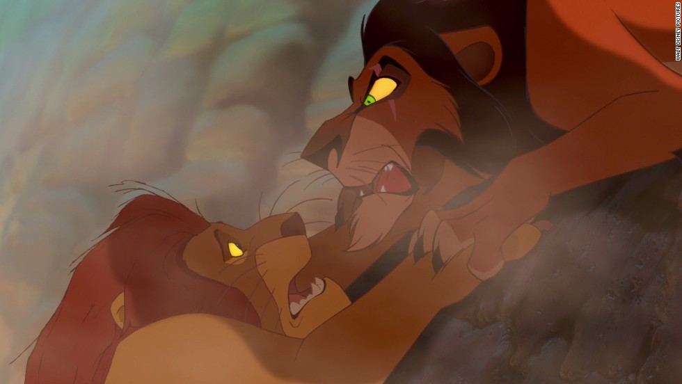 "Scar is the younger brother of King Mufasa in the 1994 film ""The Lion King."" He is jealous of his nephew Simba's position and recruits three spotted hyenas to carry out his dirty work."