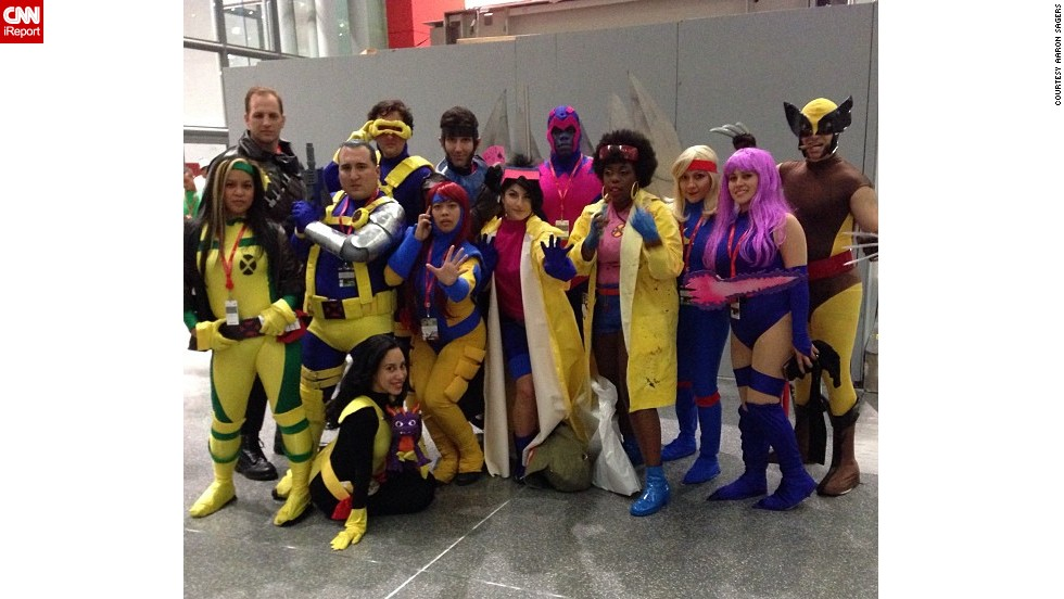 "Now in its eighth year, New York Comic Con is a force to be reckoned with, as fans descended upon the Big Apple in the hundreds of thousands from October 10 to October 13 to celebrate their favorite sci-fi, fantasy and comic books. Some, such as this group of <a href=""http://t.co/iqL7lKyZrY"" target=""_blank"">1990s X-Men</a>, take part in what's called ""cosplay,"" masquerading as popular or at times, obscure characters. Click through the gallery for more photos from NYCC:"