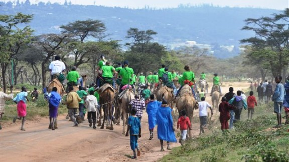 The festival takes place over three days and was originally started to promote peace among different tribes. Riders from different tribes come together to enjoy the party.