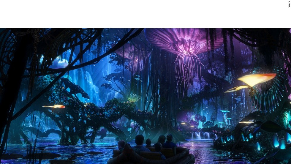 Pandora Unveiled First Images Of Disney Worlds Avatar Attraction