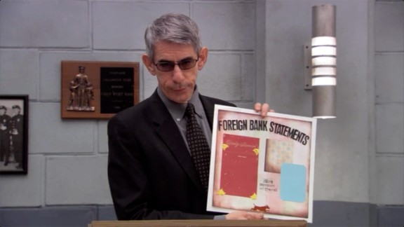 """Arrested Development"" gets a visit from Munch in 2006 on an episode called ""Exit Strategy."" This time, he played Professor Munch, who taught a scrapbooking class as a cover to get information out of Tobias (David Cross)."
