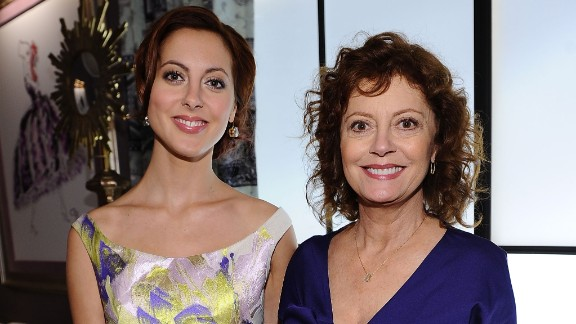 "Susan Sarandon, seen here with her actress daughter, Eva Amurri, is known for films such as ""The Rocky Horror Picture Show,"" ""Thelma & Louise"" and ""Bull Durham."" But Sarandon has agreed to star with Amurri in a new NBC sitcom."