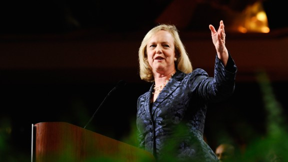 Meg Whitman is the president and chief executive officer of Hewlett-Packard. She was previously the head of eBay.