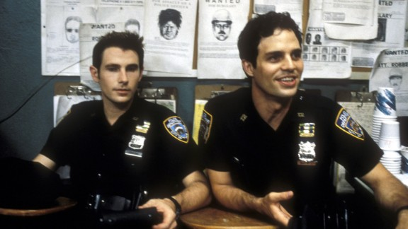 "Munch also appeared on the short-lived TV show ""The Beat"" in 2000, which featured actors Derek Cecil, left, and Mark Ruffalo. The episode was called ""They Say It"