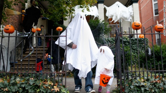 Trick-or-treating would be a weekend-only affair if an unofficial presidential petition were granted.