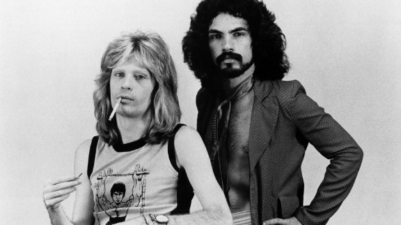 "Daryl Hall, left, and John Oates started as a soul-and-rock duo in the mid-1970s with hits such as ""Sara Smile"" and ""She"