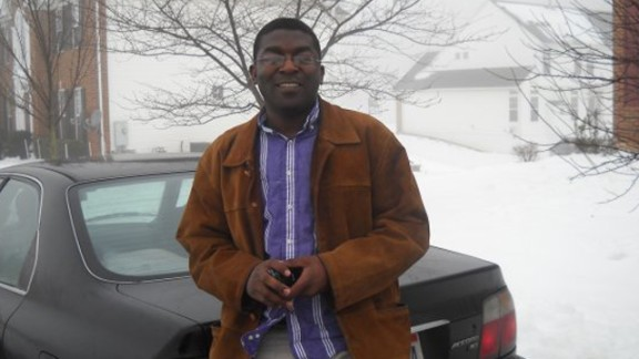 """After being awarded a scholarship, Otieno earned a Masters degree in communications and development at Ohio University. """"Getting the scholarship was life-changing for me,"""" he recalls."""