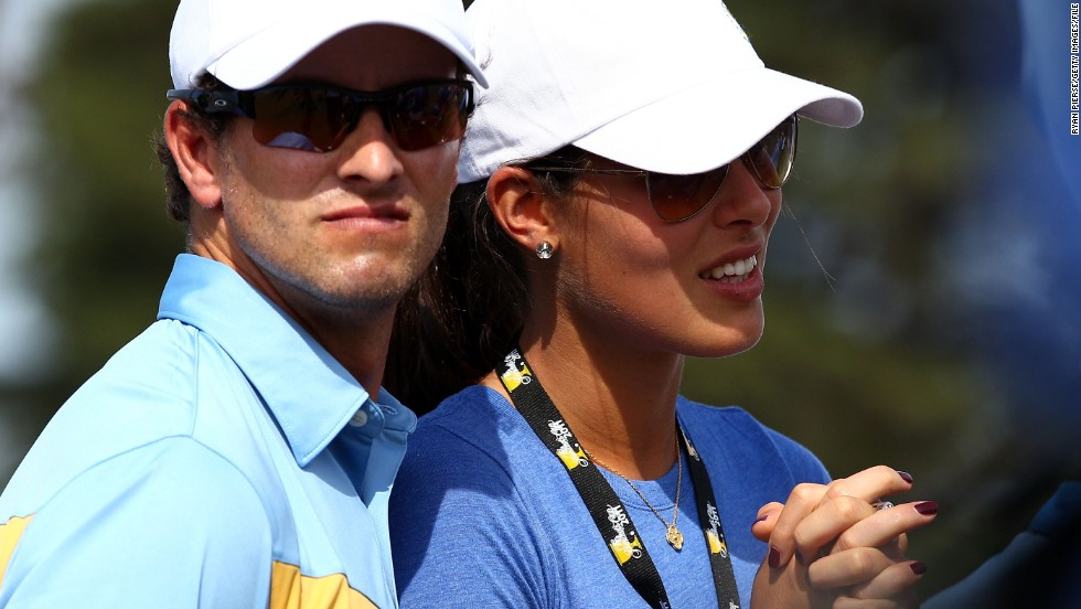 Adam Scott followed in the footsteps of his hero Norman by sparking a golf and tennis romance of his own in 2010 with Serbia's Ana Ivanovic. The pair split after both saw their form suffer, before unsuccessfully reuniting in 2011. Scott captured the first major title of his career at the Masters in 2013.