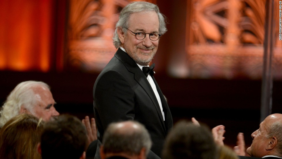 "When it comes down to the financial king of Hollywood, legend Steven Spielberg is the man who wears the crown. The 66-year-old filmmaker is at the top of <a href=""http://www.forbes.com/sites/dorothypomerantz/2013/09/12/steven-spielberg-tops-forbes-list-of-entertainments-top-earning-men/"" target=""_blank"">Forbes' list of the highest-paid male celebrities</a>, with an estimated $100 million to his name in the past year."