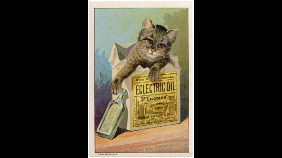 Dr. Thomas' Eclectric Oil was possibly the most over-achieving of all home remedies. It claimed to be able to cure anything from toothaches and earaches to lameness and deafness. And it only cost 50 cents a bottle.