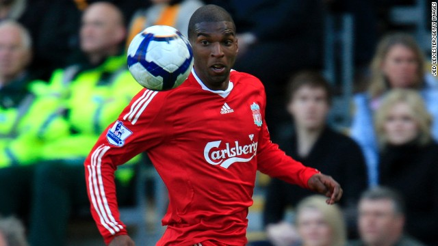 Ryan Babel played for Liverpool between 2007 and 2011.