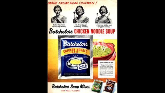 If Grandma's chicken noodle soup isn't available, Brits can always grab a bowl of Batchelors. You may scoff at the old-school remedy, but science has shown soup is worth a trip to the store when you're sick.
